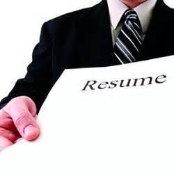 Blank resume to run off copies